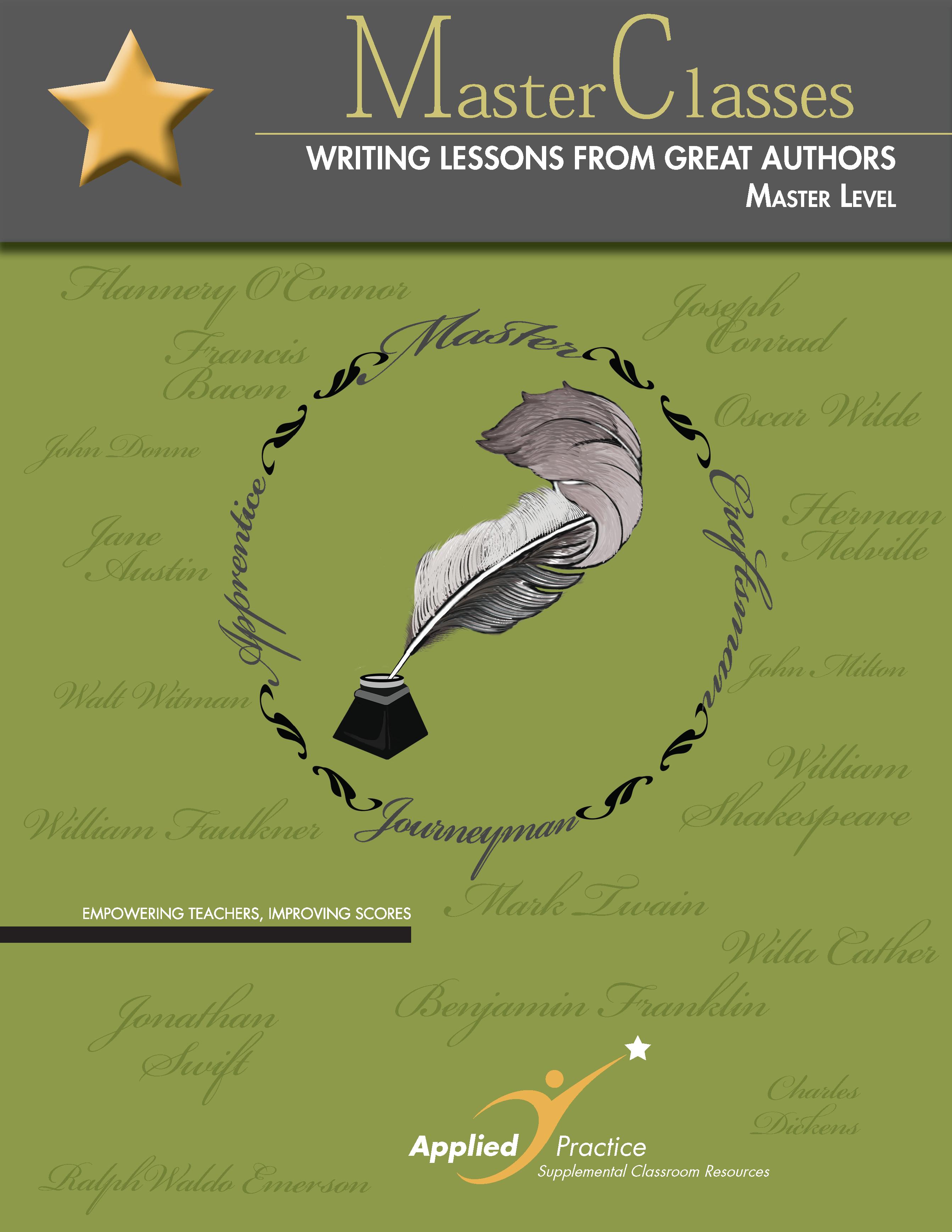 Master level writers